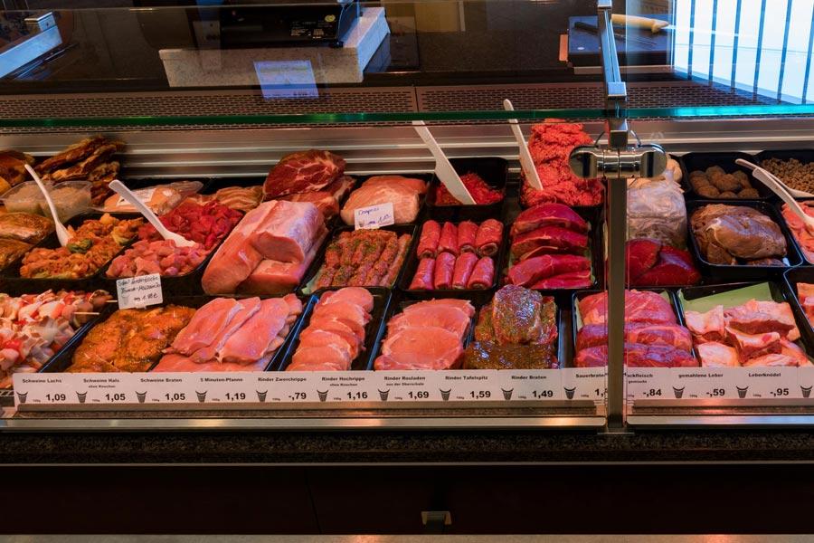 Frisches Fleisch bei EDEKA Fastner