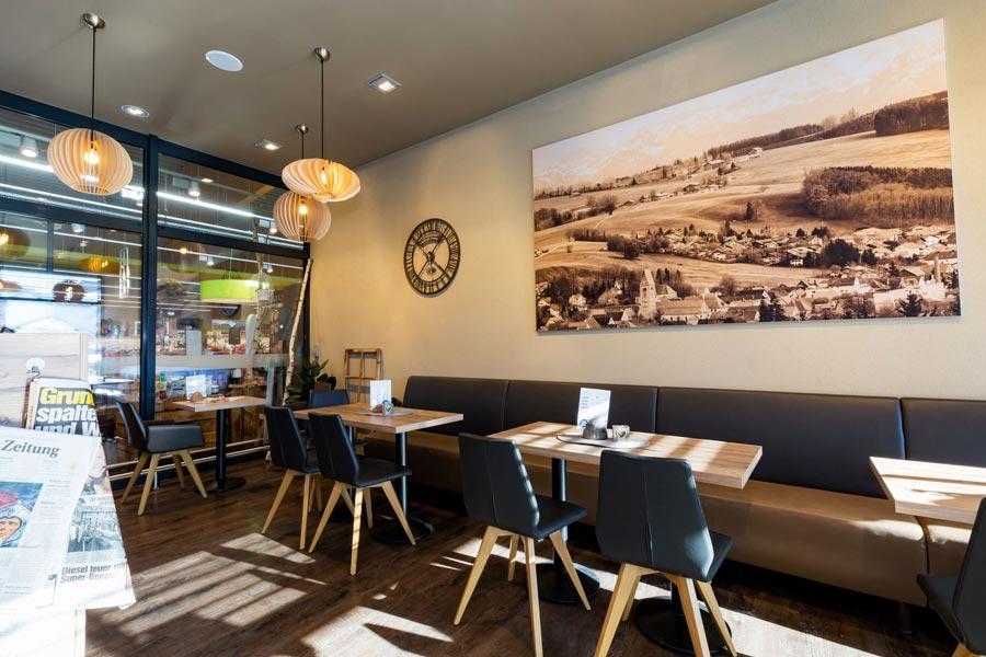 Café im EDEKA Fastner in Obergünzburg im Öschweg