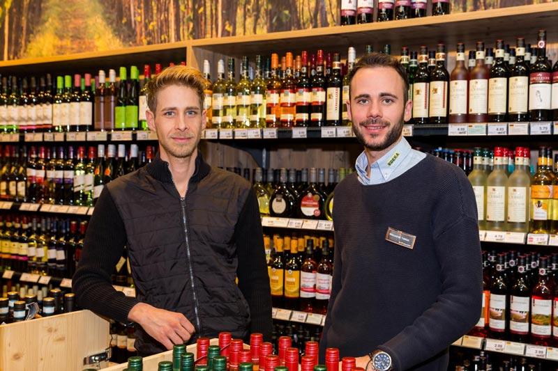 Andreas Fastner und Tobias Wieczorek