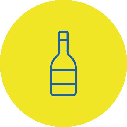 Getränkeabteilung